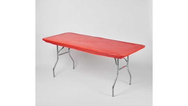 Picture of a Kwik Cover-Red-8'-Banquet