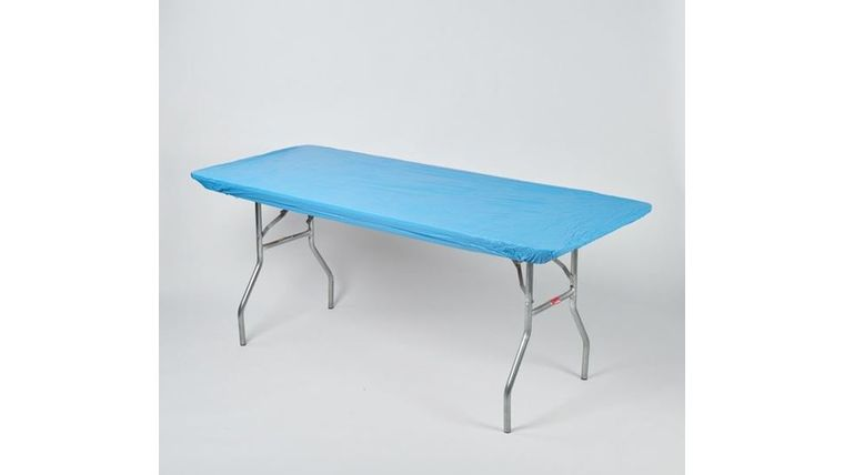 Picture of a Kwik Cover-Blue-Light-8'-Banquet