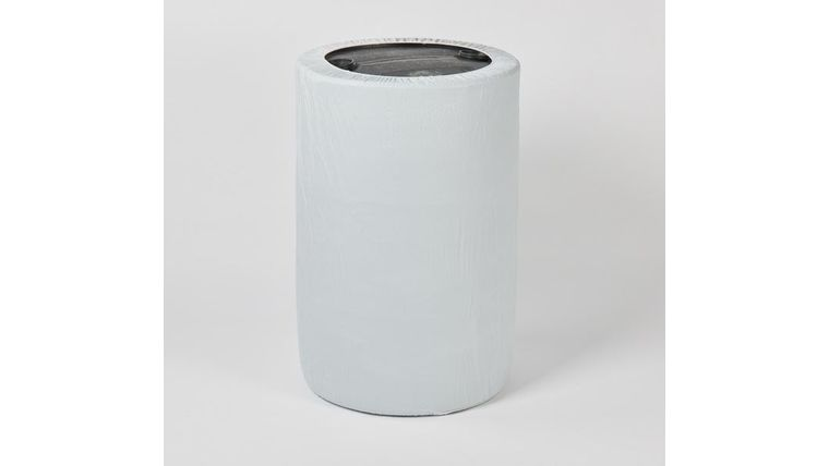 Picture of a Kwik Can Cover-White-55 Gallons