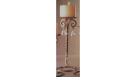 Image of a Candlestick-Gold