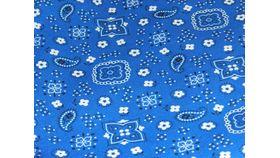 "Image of a 108""R Blue Bandana"