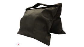 Image of a Black Sandbag