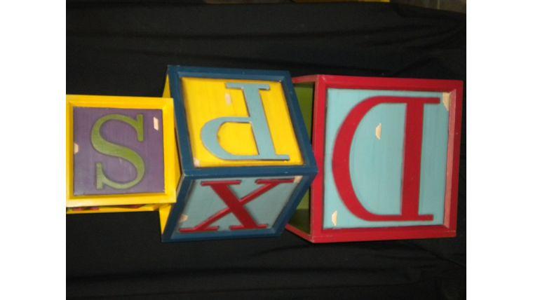Picture of a Alphabet Blocks
