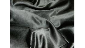 Image of a Black Satin Napkin