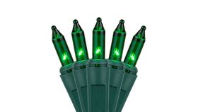 Image of a Christmas Lights - Green
