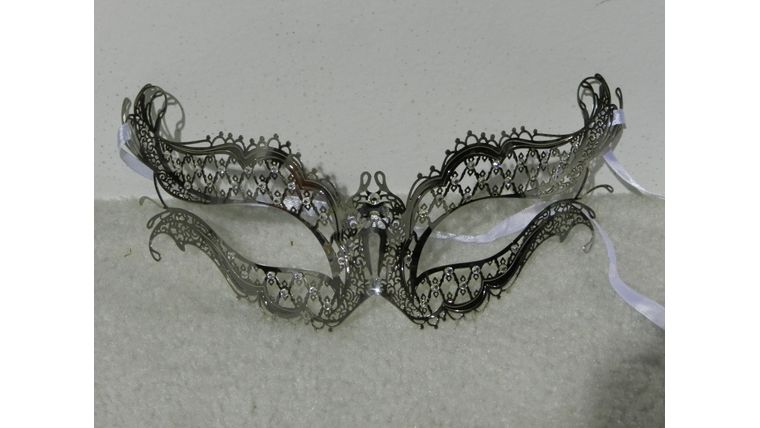 Picture of a Mask-Metal Winged Eye