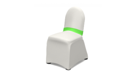 """Image of a Lime Chair Band 2.5"""""""