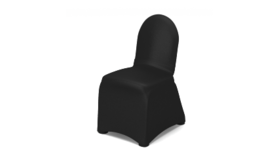 Image of a Black Chair Cover