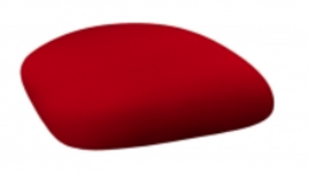 Image of a Chameleon Chair Cushion Cap-Red Spandex