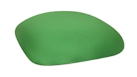 Image of a Chameleon Chair Cushion Cap-Green Kelly