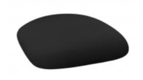 Image of a Chameleon Chair Cushion Cap-Black Spandex