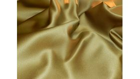 Image of a Gold Satin Chair Bag
