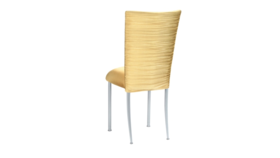 Image of a Chloe Gold Shimmer Chair Back