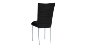 Image of a Black Chloe Lycra Chair Back