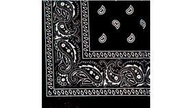 Image of a Black & White Bandana