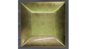 Image of a Charger-Gold-Acrylic-Square