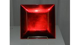 Image of a Charger-Red-Acrylic-Square