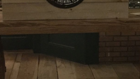 Image of a Bar Top-Wooden
