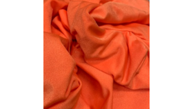 Image of a 4pt Tangerine Spandex Fabric Panel