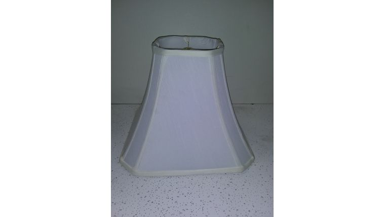 Picture of a Lampshade-Ivory Octagon