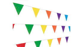 Image of a Pennant-Multicolor-33'