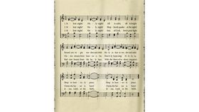 Image of a Backdrop-Silent Night Sheet Music