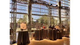 Image of a Decor Panel-Curtain-Bubble Champagne