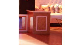 Image of a Pedestal-McQueen Stage Facade-Corner