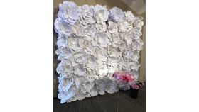 Image of a Paper Flower Wall