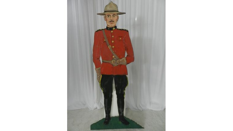 Picture of a Army Soldier Cutout