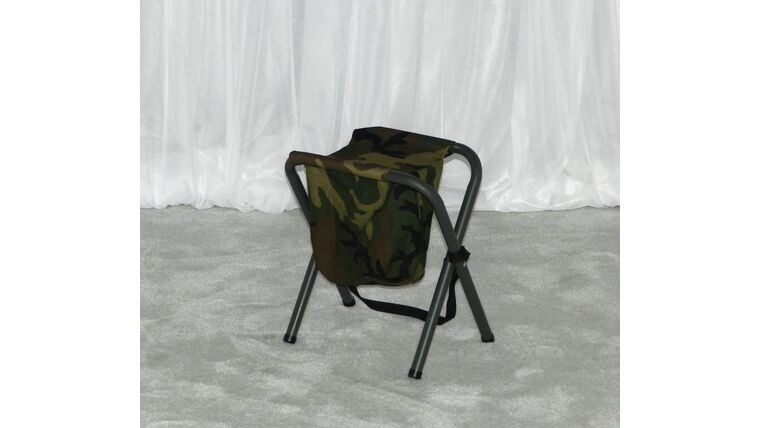 Picture of a Aluminum Chair w/ Camo Canvas