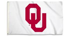 Image of a Flag-OU White