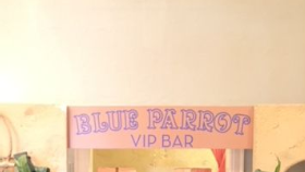 Image of a Sign-Blue Parrot Bar