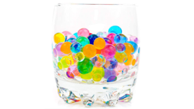 Image of a Vase Filler-Water Pearls-Multi Color
