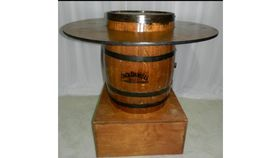 Image of a Barrel Bottom-Whiskey