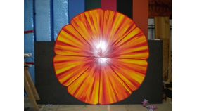 Image of a 5' Tropical Orange Flower