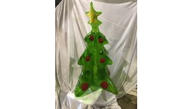 Image of a Christmas Tree-Blow Up