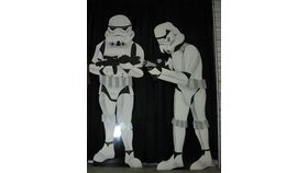 Image of a 7' Star Wars Storm Troopers