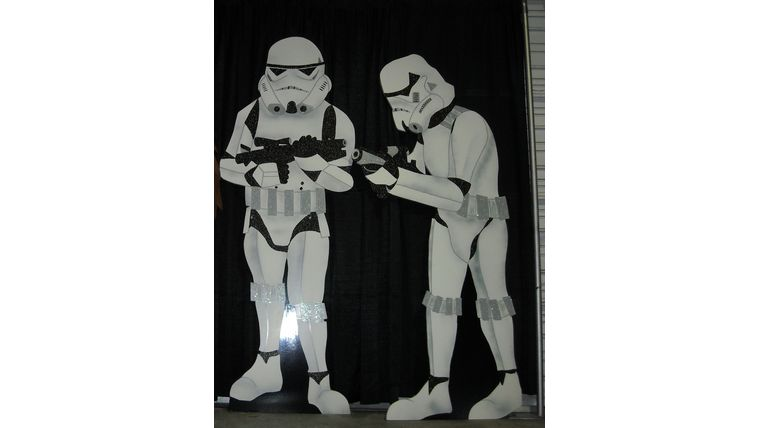 Picture of a Star Wars Storm Troopers