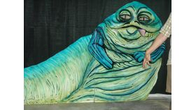 Image of a 6' Star Wars-Jabba