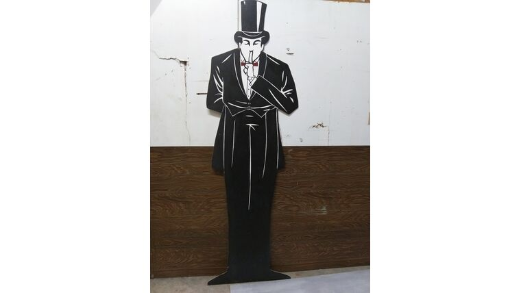 Picture of a Butler Shilouette