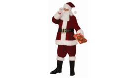 Image of a Santa Suit-Red Velvet