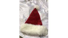 Image of a Hat-Santa Furry Red