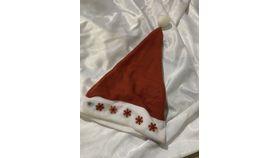 Image of a Hat-Santa-Red Felt