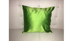 Image of a Pillow Covers-Green Apple-Satin