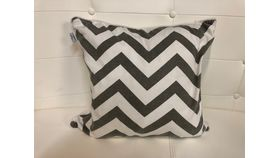Image of a Pillow Covers-Chevron&Muslin