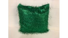 Image of a Pillow Covers-Green Eyelash