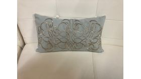 Image of a Pillow Cover- Genara-Light Blue