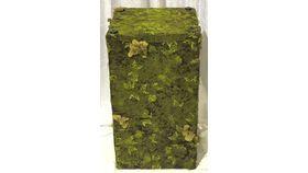 Image of a Pedestal-Wooden-Moss
