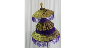 Image of a Umbrella-Oriental-3 Tier Bamboo